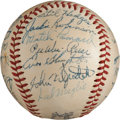 Autographs:Baseballs, 1951 National League All-Star Team Signed Baseball....