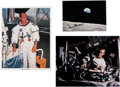 Autographs:Celebrities, Apollo 12: Individual Signed Photos of the Crew. ... (Total: 3Items)