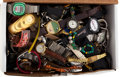 Timepieces:Other , A Large Amount Of Wristwatches For Parts Or Repair. ...