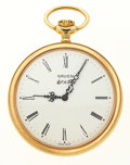 Timepieces:Musical - Mechanical , Gruen New/Old Stock Musical Pocket Watch. ...