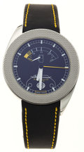 Timepieces:Wristwatch, Dunhill New/Old Stock Automatic With Power Wristwatch. ...