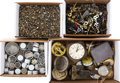 Timepieces:Other , Pocket & Wristwatch Crowns & Stems, Clock Hands & Parts. ... (Total: 4 Items)