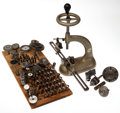 Timepieces:Other , Vintage Bergeon Bench Tool & Miscellaneous Watchmaker's Tools. ...