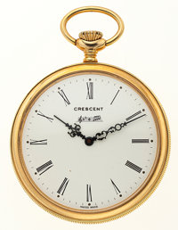 Crescent Like New/Old Stock Musical Pocket Watch