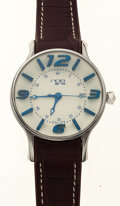 Timepieces:Wristwatch, N.O.A. New/Old Stock Stainless Steel Automatic. ...