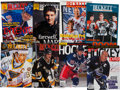 Hockey Collectibles:Publications, 1996-98 Collection of Signed Beckett Hockey Magazines - Total. ...