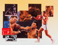 Boxing Collectibles:Autographs, 1990's Muhammad Ali Signed Lithograph....
