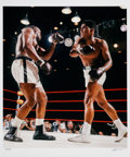 Boxing Collectibles:Memorabilia, 1964 Cassius Clay/Muhammad Ali vs. Sonny Liston Limited Edition Large Photograph (Modern Print) by Neil Leifer....