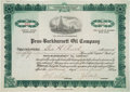Baseball Collectibles:Others, 1920 Penn-Burkburnett Oil Company Stock Certificate Owned by BabeRuth....