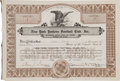 Football Collectibles:Others, 1945 New York Yankees Football Club Stock Certificate Issued to President Daniel Topping....
