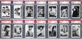 Non-Sport Cards:Sets, 1967 Leaf Star Trek Near Set (64/72) - #8 on the PSA Set Registry....