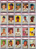 Baseball Cards:Sets, 1952 Topps Baseball High Numbers Near Run (94/97). ...