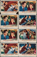 "Movie Posters:Adventure, The High and the Mighty (Warner Brothers, 1954). Lobby Cards (8)(11"" X 14""). Adventure.. ... (Total: 8 Items)"