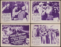 "The Valley of Vanishing Men (Columbia, 1942). Lobby Card Set of 4 (11"" X 14"") Chapter 2 -- ""The Mystery o..."