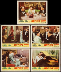 "The Lady Eve (Paramount, R-1949). Lobby Cards (5) (11"" X 14""). Comedy. ... (Total: 5 Posters)"