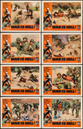 "Movie Posters:War, War is Hell (Allied Artists, 1963). Lobby Card Set of 8 (11"" X14""). War.. ... (Total: 8 Items)"