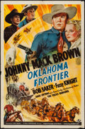 "Movie Posters:Western, Oklahoma Frontier (Universal, 1939). One Sheet (27"" X 41""). Western.. ..."