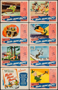 """Movie Posters:Animation, Make Mine Music (RKO, 1946). Lobby Card Set of 8 (11"""" X 14""""). Animation.. ... (Total: 8 Items)"""