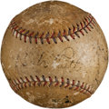 Autographs:Baseballs, Circa 1930 New York Yankees Team Signed Baseball....