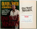 Books:Americana & American History, Oliver North and David Roth. SIGNED. One More Mission. OliverNorth Returns to Vietnam. Zondervan Publishing Hou...