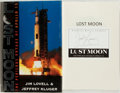 Books:Biography & Memoir, Jim Lovell and Jeffrey Kluger. SIGNED. Lost Moon. The PerilousVoyage of Apollo 13. Houghton Mifflin Company, 19...