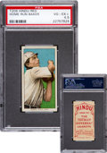Baseball Cards:Singles (Pre-1930), 1909-11 T206 Hindu (Red) Home Run Baker PSA VG-EX+ 4.5 - Only ThreeKnown! ...