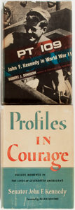 Books:Biography & Memoir, John F. Kennedy. Two Books by or About JFK: John F. Kennedy.Profiles in Courage. Harper & Brothers, 1956. Book ...(Total: 2 Items)