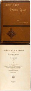 Books:Americana & American History, [California] Two Important on California and the Southwestincluding: L. Vernon Briggs. Arizona and New Mexico 1882 ...(Total: 2 Items)
