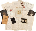 Baseball Collectibles:Others, Early 1900's Ed Delahanty Family Photography & Correspondence....