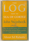 Books:Americana & American History, John Steinbeck. The Log From the Sea of Cortez. VikingPress, 1951. First edition. Octavo. Scarce maroon cloth l...