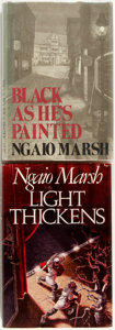 Books:Mystery & Detective Fiction, Ngaio Marsh. Two First American Editions including: Black asHe's Painted. Little, Brown and Company, 1974. First Am...(Total: 2 Items)
