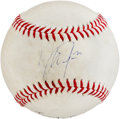Autographs:Baseballs, 2012 Mike Trout Signed Game Used Baseball....