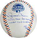 Autographs:Baseballs, 2013 Mariano Rivera Single Signed Limited Edition All-Star GameBaseball....