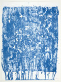 Prints, SAM FRANCIS (American, 1923-1994). Untitled (from the Papierski Portfolio), 1992. Lithograph in colors. 30 x 22 inch...