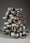 Post-War & Contemporary:Sculpture, ARMAN (French/American, 1928-2005). Machine Guns, 1973.Accumulation of welded electric drills. 26 x 22 x 26-1/2 inches ...