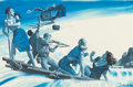 Works on Paper, MORT KÜNSTLER (American, b. 1931). The Four Who Escaped the Dynamite Kite, Male magazine story illustration, circa 1965...
