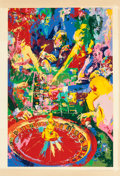 Prints:Contemporary, LEROY NEIMAN (American, 1921-2012). The Green Table, 1974.Screenprint in colors. 39-3/4 x 26 inches (101.0 x 66.0 cm) s...