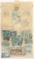 Prints, ROBERT RAUSCHENBERG (American, 1925-2008). Mule (from the Hoarfrost Editions series), 1974. Offset lithograph transf...