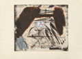 Prints:Contemporary, ANTONI TÀPIES (Spanish, 1923-2012). Ailes, 1976. Etching incolors. 23-1/2 x 26-3/4 inches (59.7 x 67.9 cm) sight. Ed. 1...