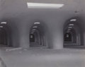 Photographs:Contemporary, JAMES CASEBERE (American, b. 1953). Study for Tunnels, 1995.Polaroid in black and white. 3-1/2 x 4-1/4 inches (8.9 x 10...