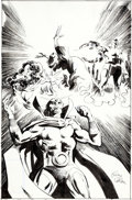 Original Comic Art:Covers, Gene Colan and Klaus Janson Jemm Son of Saturn #3 CoverOriginal Art (DC, 1984)....