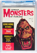Magazines:Horror, Famous Monsters of Filmland #6 Don/Maggie Thompson Collection pedigree (Warren, 1960) CGC VF 8.0 Off-white to white pages....