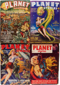 Pulps:Science Fiction, Planet Stories Near Complete Run (Fiction House, 1941-55)Condition: Average VG+.... (Total: 2 Box Lots)
