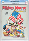 Golden Age (1938-1955):Cartoon Character, Mickey Mouse Magazine V4#10 File Copy (K. K. Publications/ WesternPublishing Co., 1939) CGC NM- 9.2 Cream to off-white pages....