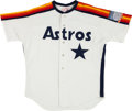 Baseball Collectibles:Uniforms, 1990 Dave Smith Game Worn Jersey & Game Issued Bat Lot of 2....