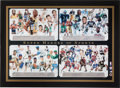 "Miscellaneous Collectibles:General, Circa 2000 ""Super Heroes of Sports"" Multi-Signed Lithograph. ..."
