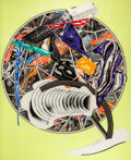 Post-War & Contemporary:Contemporary, FRANK STELLA (American, b. 1936). The Whale as a Dish (fromthe Waves series), 1989. Screenprint, lithograph and lin...