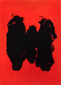 Prints:Contemporary, ROBERT MOTHERWELL (American, 1915-1991). Three Figures,1989. Lithograph in colors. 56 x 40 inches (142.2 x 101.6 cm). E...