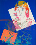 Prints:Contemporary, ANDY WARHOL (American, 1928-1987). Wayne Gretzky #99, 1984.Screenprint in colors on Lenox Museum Board. 40 x 32 inches ...