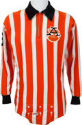 Football Collectibles:Uniforms, 1960's American Football League Referee Jersey....